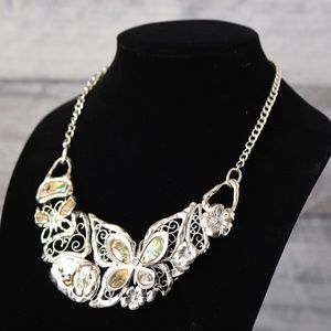 Jewelry - Abalone Butterfly Necklace